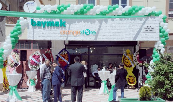 Baymak 25 ilde 100 mağaza açıyor