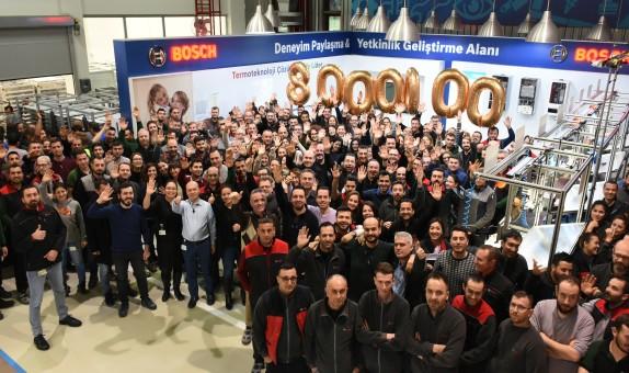 Bosch Termoteknik 8 Milyon Kombi Üretti