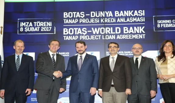 Dünya Bankasından TANAPa 400 milyon dolarlık kredi