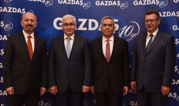 GAZDAŞ, Hizmet Bölgelerinde 10'uncu Yılını Kutluyor