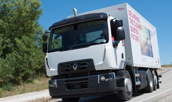 Renault Trucks, Doğalgaz ile Çalışan Araç Serisini Sergiliyor