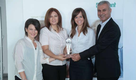 Vaillant'a Şikayet Yönetiminde Sektöründe Birincilik Ödülü