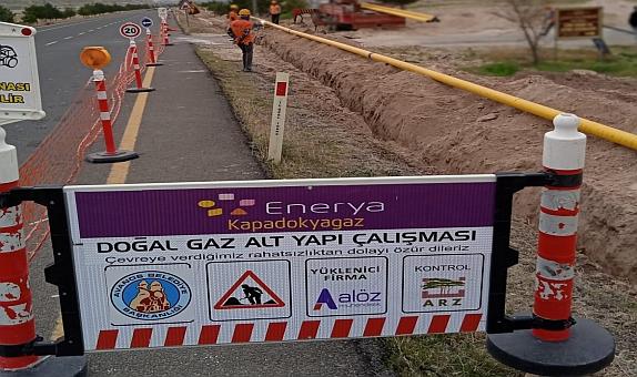 Nevşehir'de 3 Yeni Beldeye Doğal Gaz Geliyor