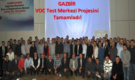 GAZBİR VOC Test Merkezi Projesini Tamamladı