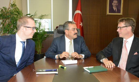 EWE Turkey Holding'den EPDK'ya Ziyaret