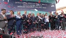 Çatalca'ya 202 kilometrelik doğalgaz yatırımı