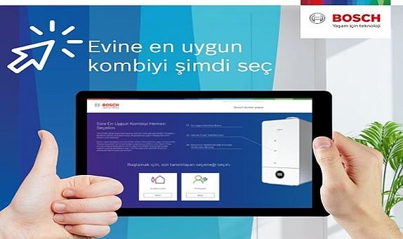 Bosch Termoteknoloji'den Kombi Seçim Programı
