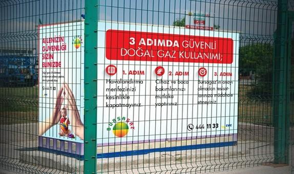Bursagaz Güvenli Doğalgaz Kampanyası