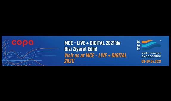 COPA MCE Milano Live + Digital 2021 Fuarı'nda