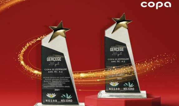 COPA'ya Çifte Ödül