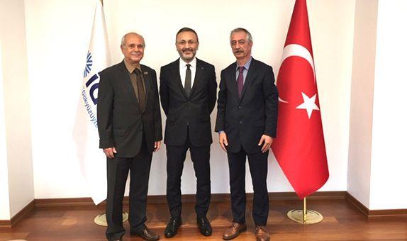 İGDAŞ Genel Müdürü Dr. Bülent Özmen'i Ziyaret Ettik