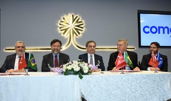 İGDAŞ ve COMGAS, İşbirliği Anlaşması İmzaladı
