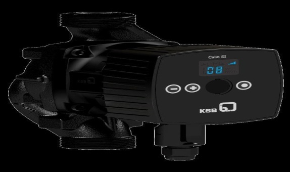 KSB'den Yeni 150 Watt Calio SI HP Sirkülasyon Pompaları