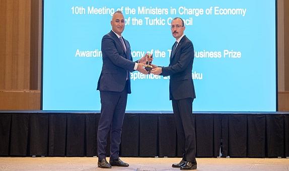 """SOCAR Türkiye, """"Türk Konseyi Yatırım Ödülü""""nü Aldı"""
