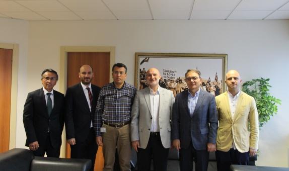 DOSİDER Yönetim Kurulu Başkanı Esgaz'ı Ziyaret Etti